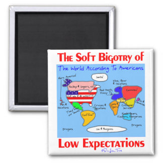 Soft Bigotry Of Low Expectations 2 Inch Square Magnet