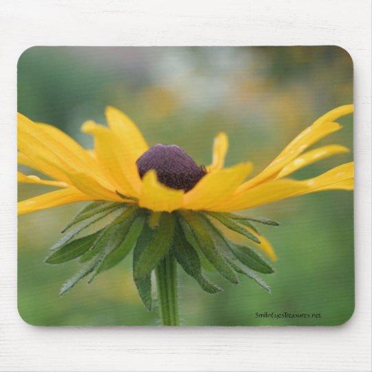 Soft Black Eyed Susan Flower Photo Mousepad