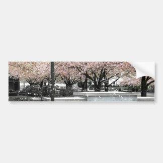 Soft Blossoms Car Bumper Sticker