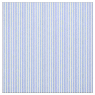 Soft Blue And White Stripe Fabric