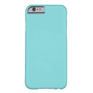 Soft Blue Color Barely There iPhone 6 Case
