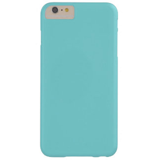 Soft Blue Color Barely There iPhone 6 Plus Case