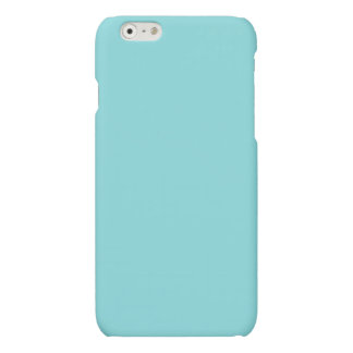 Soft Blue Color Matte iPhone 6 Case