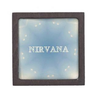 "Soft Blue ""Nirvana"" Lighted Patterns Gift Box"