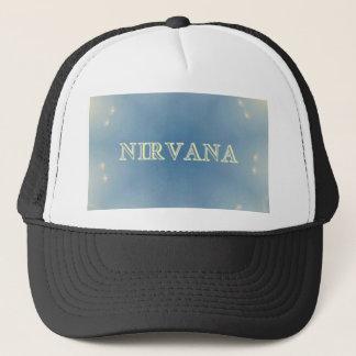 "Soft Blue ""Nirvana"" Lighted Patterns Trucker Hat"