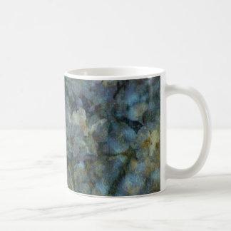 Soft Blue Orchard Mugs