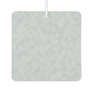 Soft Blue Parchment Look Car Air Freshener