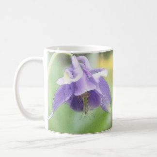 Soft Blue Petals - Aquilegia Classic White Coffee Mug