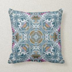 Soft Blue Pillow Throw