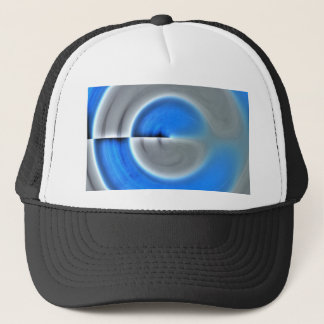 Soft Blue Sky Trucker Hat