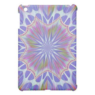 Soft Blue Starburst Rainbow Speck Case iPad Mini Cases
