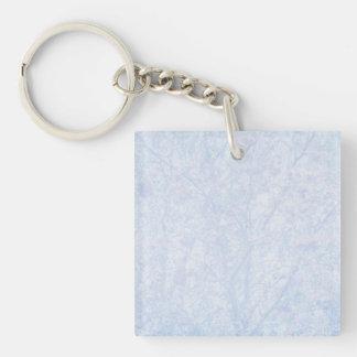 Soft Blue Tint Rowan Keychain