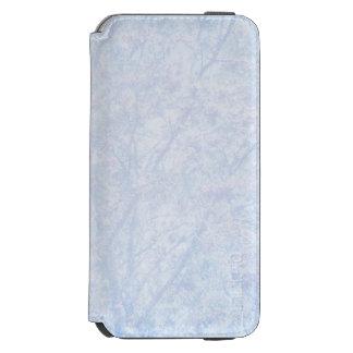 Soft Blue Tint Rowan Pattern iPhone 6/6s Wallet Case