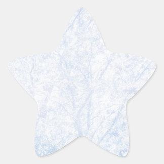 Soft Blue Tint Rowan Star Sticker