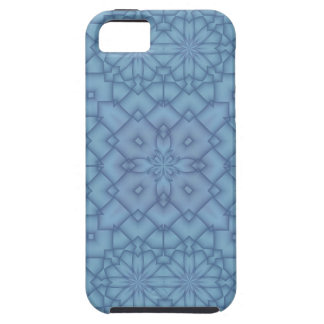 Soft Blue Tracery #2 iPhone SE/5/5s Case