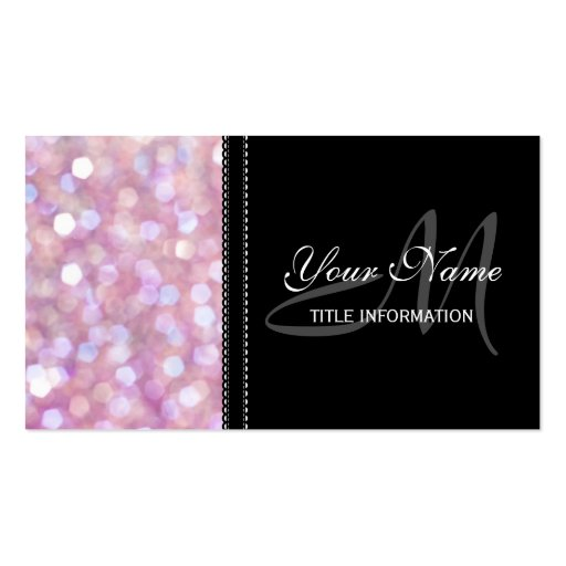 30 000 Glitter Business Cards and Glitter Business Card