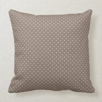 soft brown decorative pillow