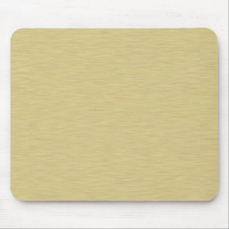 Soft Brushed Gold Mouse Pad