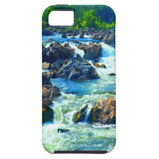 Soft but strong water and love sculpting rock iPhone SE/5/5s case