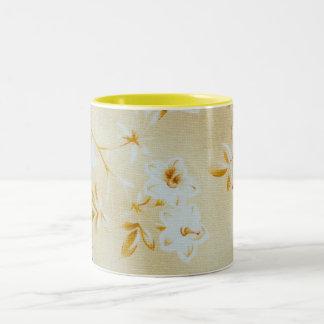 Soft Camelia Floral Mug