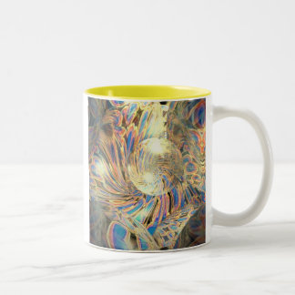 Soft Chair Reclining the Bubble Two-Tone Coffee Mug