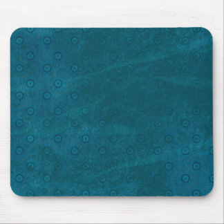 Soft Circle Pattern Blue Background Mouse Pad