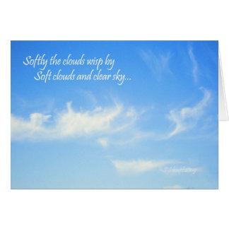 Soft Clouds... Card