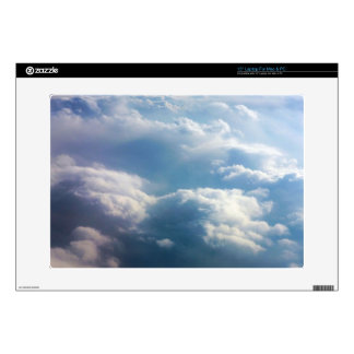 """Soft Clouds Decals For 15"""" Laptops"""
