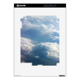 Soft Clouds iPad 2 Decal