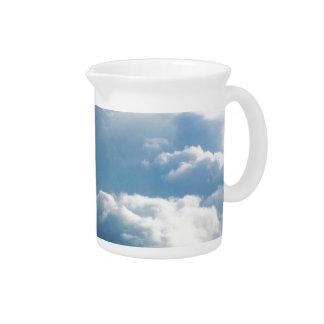 Soft Clouds Pitcher