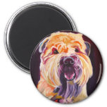 Soft Coated Wheaten Terrier 2 Inch Round Magnet