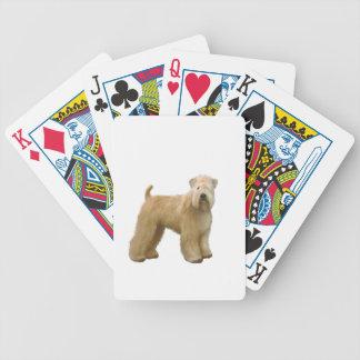 Soft Coated Wheaten Terrier (A)  - stand Card Decks