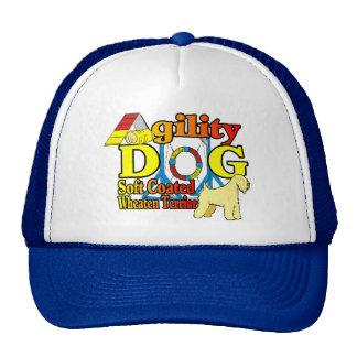 Soft_Coated_Wheaten_Terrier_Agility Gorras De Camionero