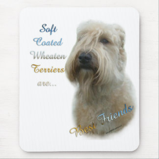 Soft Coated Wheaten Terrier Best Friend 2 Mouse Pad