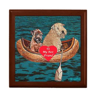 Soft-Coated Wheaten Terrier - Best Friends Keepsake Box