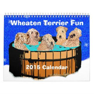 Soft Coated Wheaten Terrier Calendar 2015
