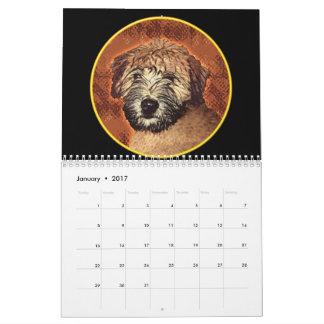 Soft Coated Wheaten Terrier Calendar 2017