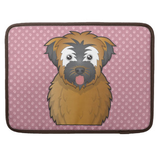 Soft Coated Wheaten Terrier Cartoon MacBook Pro Sleeve