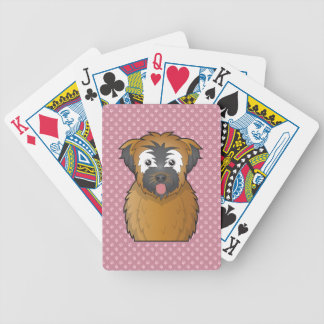 Soft Coated Wheaten Terrier Cartoon Bicycle Card Deck