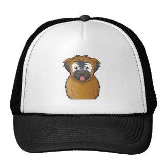 Soft Coated Wheaten Terrier Cartoon Trucker Hat