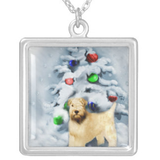Soft Coated Wheaten Terrier Christmas Jewelry