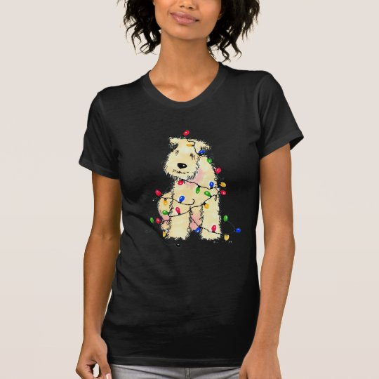 Soft Coated Wheaten Terrier - Christmas T-Shirt