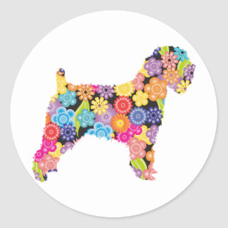 Soft Coated Wheaten Terrier Classic Round Sticker
