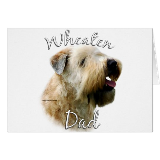 Soft Coated Wheaten Terrier Dad 2 Card