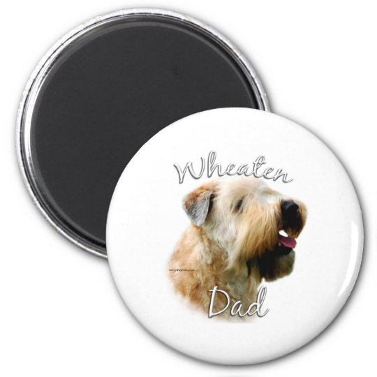 Soft Coated Wheaten Terrier Dad 2 Magnet