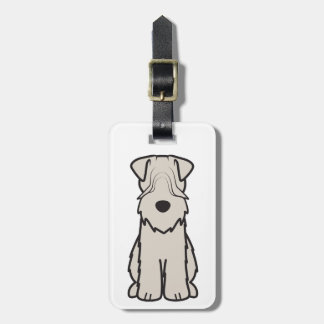Soft Coated Wheaten Terrier Dog Cartoon Bag Tag