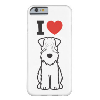 Soft Coated Wheaten Terrier Dog Cartoon Barely There iPhone 6 Case