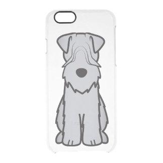 Soft Coated Wheaten Terrier Dog Cartoon Clear iPhone 6/6S Case