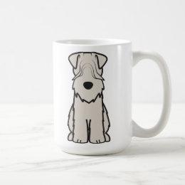 Soft Coated Wheaten Terrier Dog Cartoon Coffee Mug