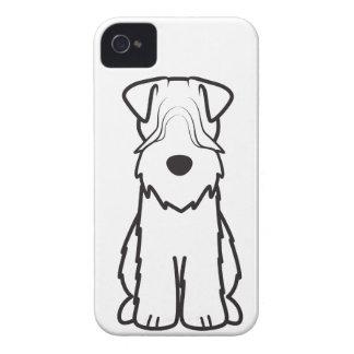 Soft Coated Wheaten Terrier Dog Cartoon iPhone 4 Cover